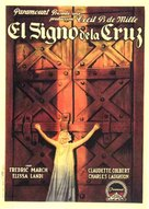 The Sign of the Cross - Spanish Movie Poster (xs thumbnail)