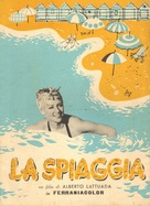 La spiaggia - Italian Movie Poster (xs thumbnail)