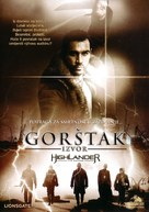 Highlander: The Source - Turkish DVD cover (xs thumbnail)