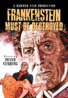 Frankenstein Must Be Destroyed - DVD cover (xs thumbnail)