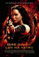 The Hunger Games: Catching Fire - Serbian Movie Poster (xs thumbnail)