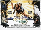 Romancing the Stone - British Movie Poster (xs thumbnail)
