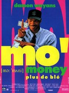 Mo' Money - French Movie Poster (xs thumbnail)