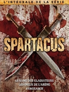 """Spartacus: Blood And Sand"" - French Movie Cover (xs thumbnail)"