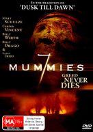 Seven Mummies - Australian DVD cover (xs thumbnail)