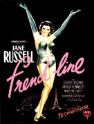 The French Line - French Movie Poster (xs thumbnail)
