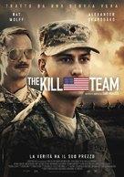 The Kill Team - Italian Movie Poster (xs thumbnail)
