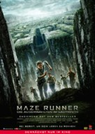 The Maze Runner - German Movie Poster (xs thumbnail)