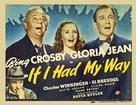 If I Had My Way - Movie Poster (xs thumbnail)