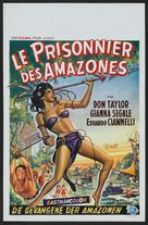 Love Slaves of the Amazons - Belgian Movie Poster (xs thumbnail)