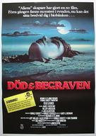 Dead & Buried - Swedish Movie Poster (xs thumbnail)