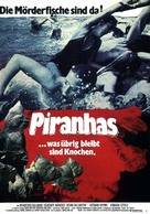 Piranha - German Movie Poster (xs thumbnail)