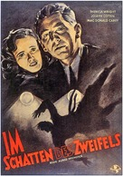Shadow of a Doubt - German Movie Poster (xs thumbnail)