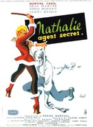 Nathalie, agent secret - French Movie Poster (xs thumbnail)