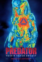 The Predator - Icelandic Movie Poster (xs thumbnail)