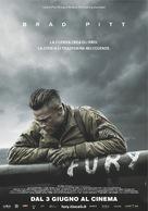 Fury - Italian Movie Poster (xs thumbnail)