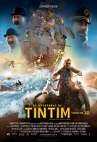 The Adventures of Tintin: The Secret of the Unicorn - Brazilian Movie Poster (xs thumbnail)
