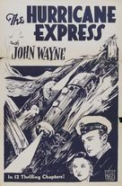 The Hurricane Express - Re-release poster (xs thumbnail)