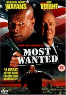 Most Wanted - British DVD cover (xs thumbnail)