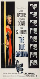 The Blue Gardenia - Movie Poster (xs thumbnail)