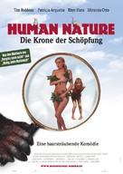 Human Nature - German Movie Poster (xs thumbnail)