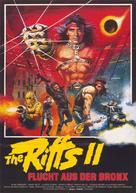 Fuga dal Bronx - German Movie Poster (xs thumbnail)
