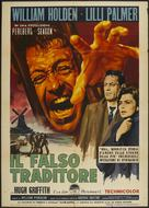 The Counterfeit Traitor - Italian Movie Poster (xs thumbnail)