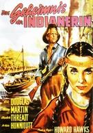 The Big Sky - German Movie Poster (xs thumbnail)
