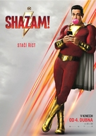 Shazam! - Czech Movie Poster (xs thumbnail)