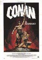 Conan The Barbarian - Italian Movie Poster (xs thumbnail)