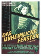 The Window - German Movie Poster (xs thumbnail)