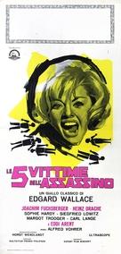Der Hexer - Italian Movie Poster (xs thumbnail)