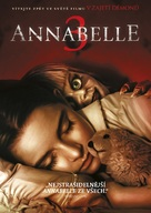 Annabelle Comes Home - Czech DVD movie cover (xs thumbnail)