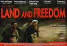Land and Freedom - British Movie Poster (xs thumbnail)