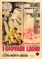 The Young Lions - Italian Movie Poster (xs thumbnail)