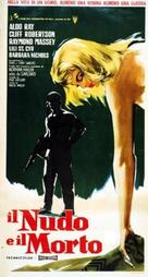 The Naked and the Dead - Italian Movie Poster (xs thumbnail)