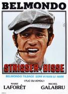 Flic ou voyou - Danish Movie Poster (xs thumbnail)