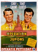 Operation Petticoat - Belgian Movie Poster (xs thumbnail)