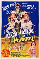 Abbott and Costello Meet the Mummy - Australian Movie Poster (xs thumbnail)