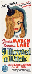 I Married a Witch - Australian Movie Poster (xs thumbnail)