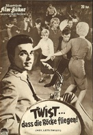 Hey, Let's Twist - German poster (xs thumbnail)