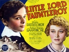 Little Lord Fauntleroy - British Theatrical poster (xs thumbnail)
