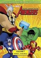 """""""The Avengers: Earth's Mightiest Heroes"""" - DVD movie cover (xs thumbnail)"""