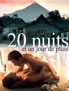 20 nuits et un jour de pluie - French poster (xs thumbnail)