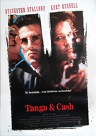 Tango And Cash - Turkish Movie Poster (xs thumbnail)