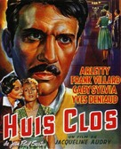 Huis clos - French Movie Poster (xs thumbnail)