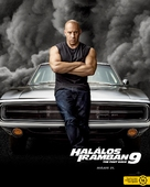 Fast & Furious 9 - Hungarian Movie Poster (xs thumbnail)