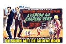 The Spy in the Green Hat - Belgian Movie Poster (xs thumbnail)