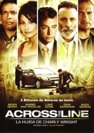 Across the Line: The Exodus of Charlie Wright - Spanish DVD movie cover (xs thumbnail)