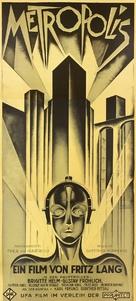 Metropolis - German Movie Poster (xs thumbnail)